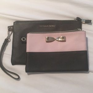 NWOT Victoria Secret Purses/Zip Bags Set